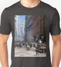 Curb Market in NYC, ca 1900 Unisex T-Shirt