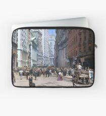 Curb Market in NYC, ca 1900 Laptop Sleeve