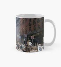 Curb Market in NYC, ca 1900 Mug