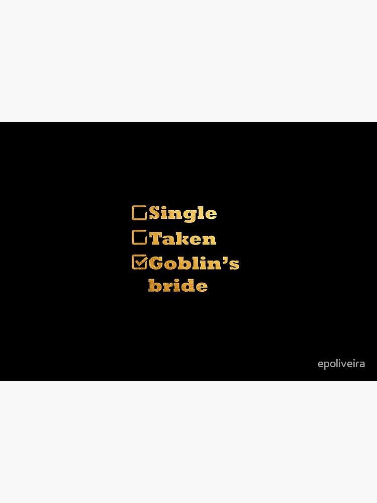 Single Taken Goblin's Bride Gold by epoliveira