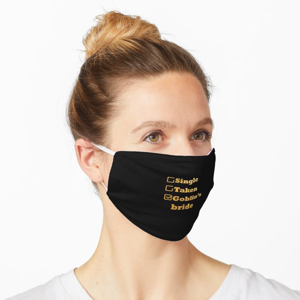 Single Taken Goblin's Bride Gold Mask
