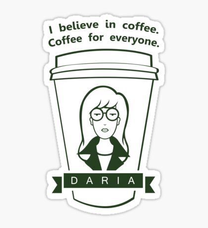 Coffee For Everyone. Sticker