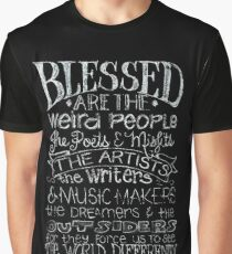Blessed are the Weird People Graphic T-Shirt