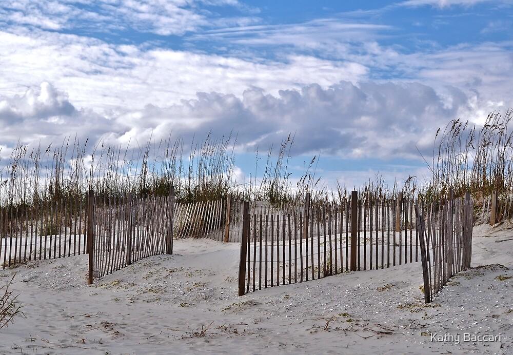 Beach Scene At Pawley Island by Kathy Baccari