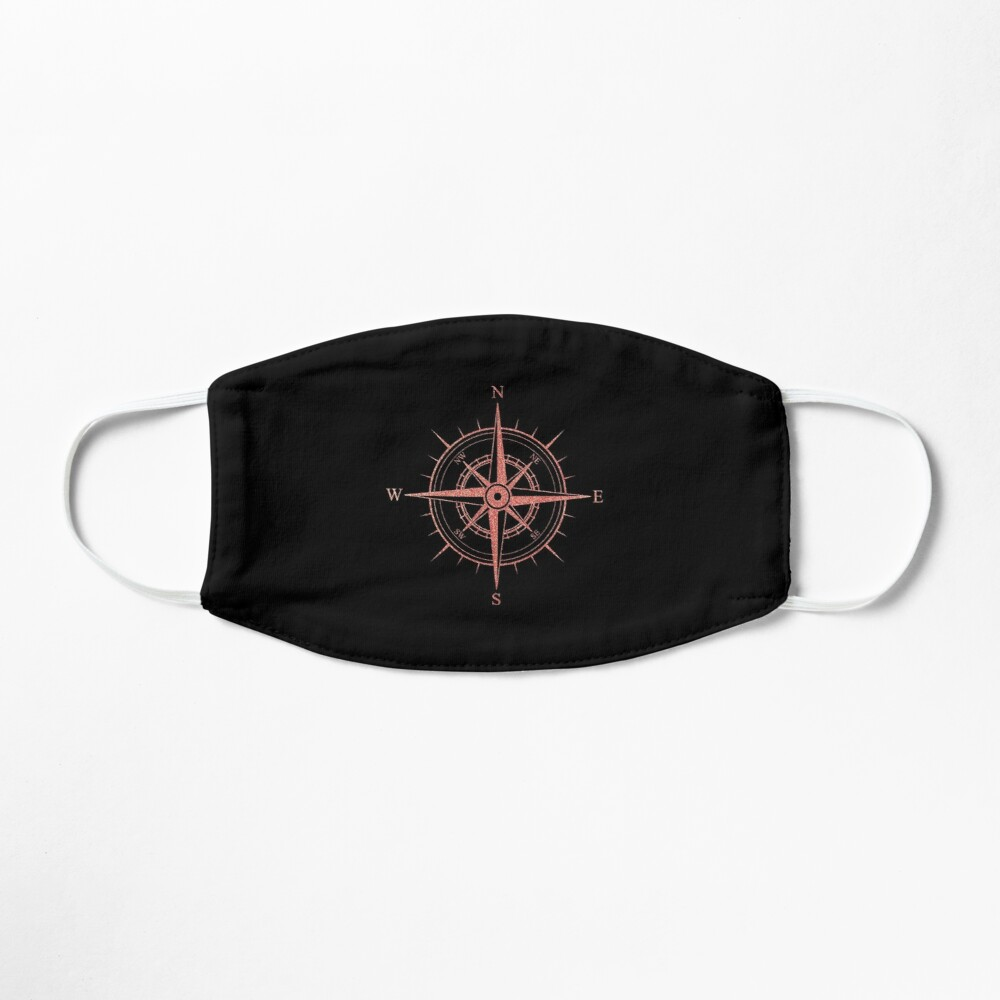 Rose Winds Compass Symbol Mask