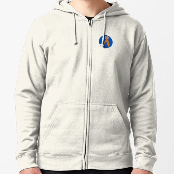 CHAI Fi Logo Zipped Hoodie