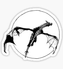 There Be Dragons Sticker