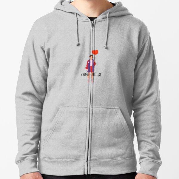 diseño gris conan Sudadera con capucha y cremallera