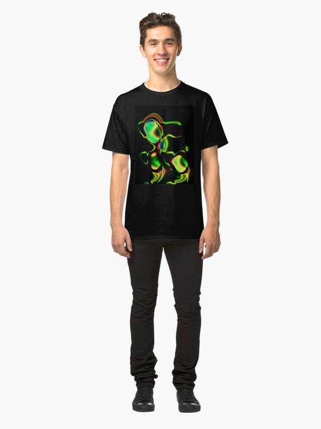Alternate view of Samurai Mech Classic T-Shirt