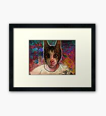 Nekokun Wytchwood Framed Print