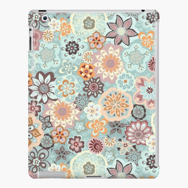 Beautiful Bouquet of Midsummer Blooms in blue, orange and pink iPad Snap Case