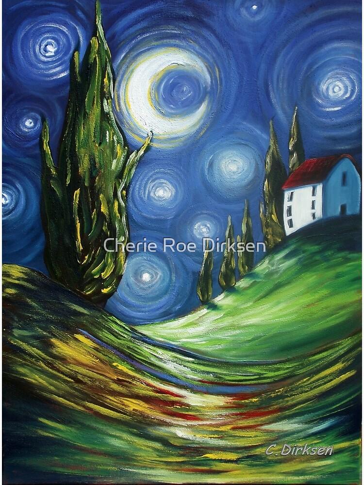 The Dreamers Night Sky by cheriedirksen