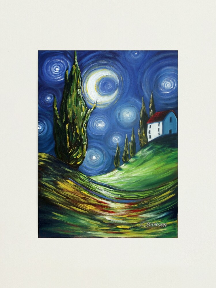 Alternate view of The Dreamers Night Sky Photographic Print