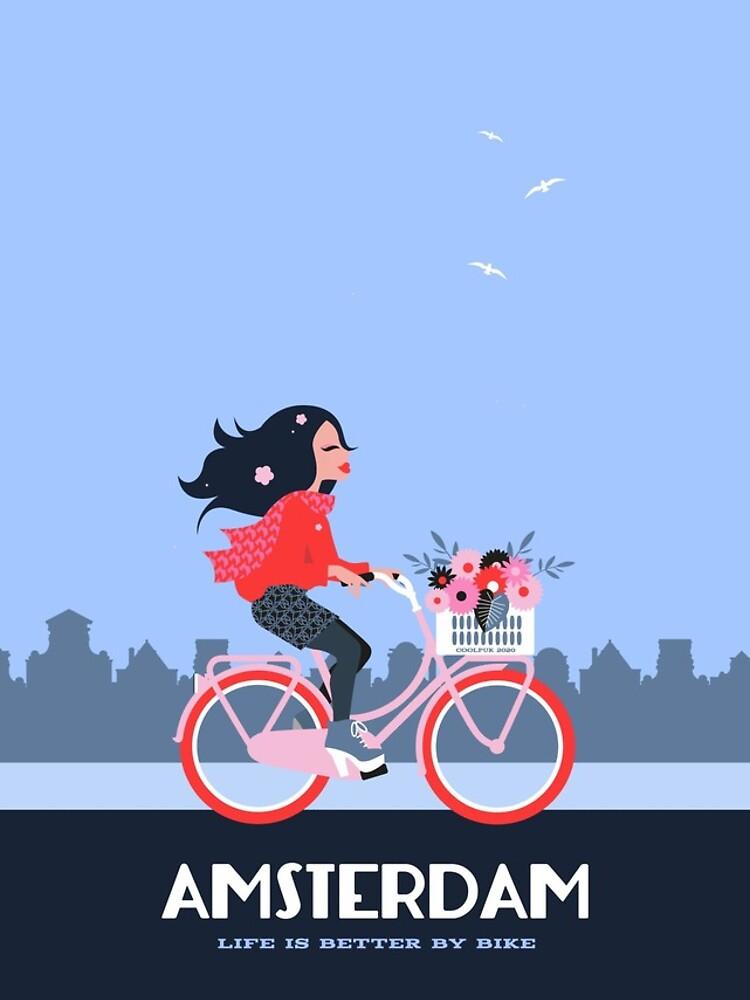 Amsterdam Bike Life by Coolpuk