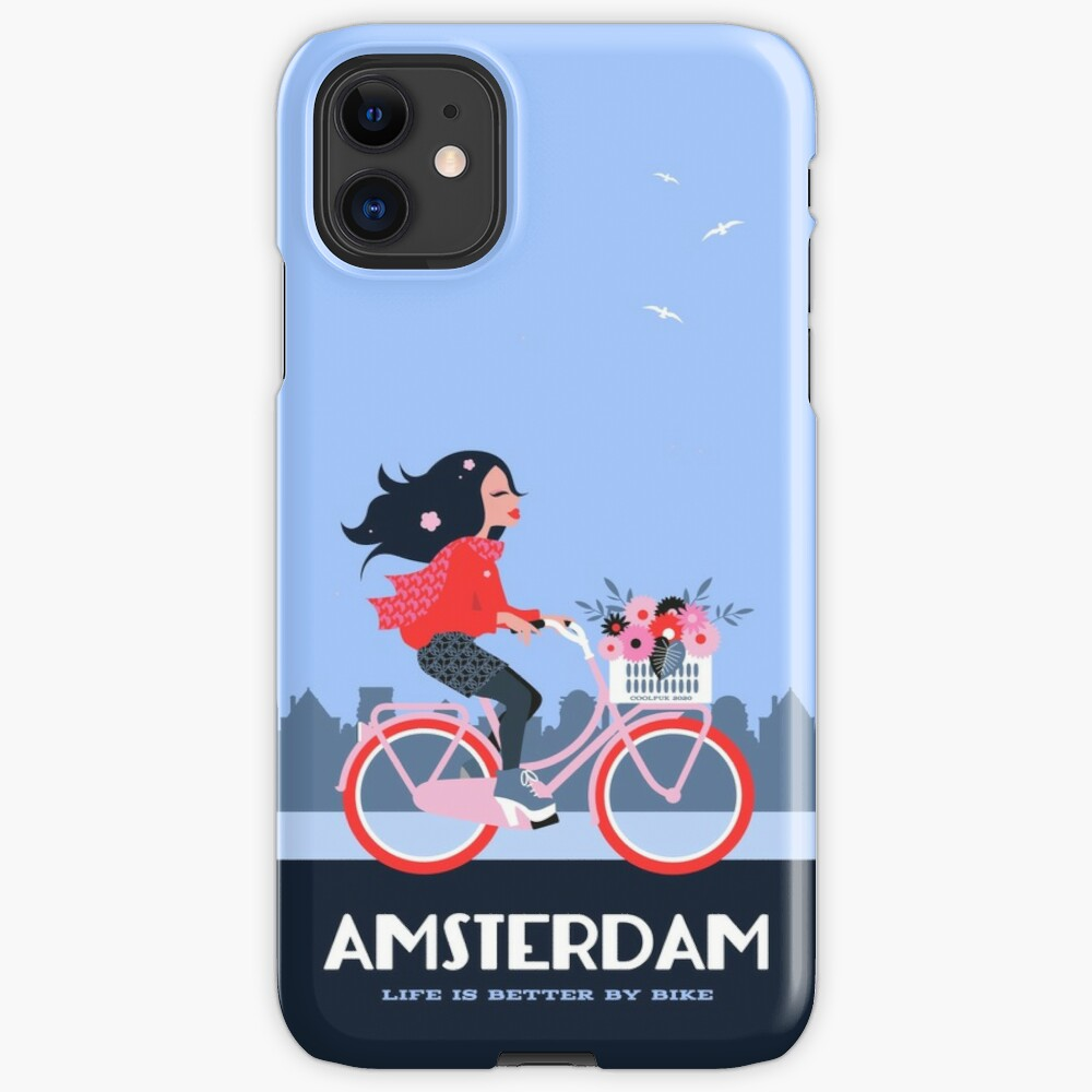 Amsterdam Bike Life iPhone Case & Cover