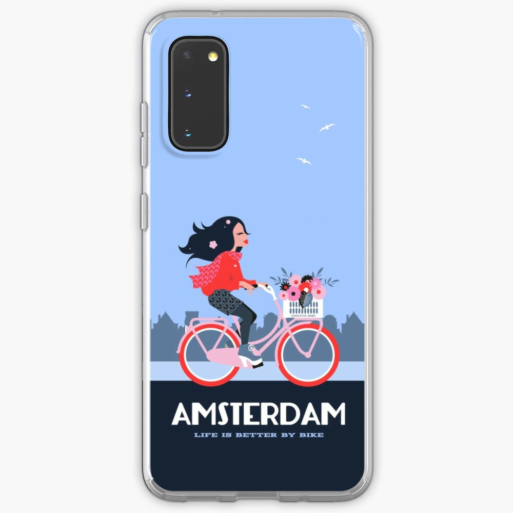 Amsterdam Bike Life Case & Skin for Samsung Galaxy
