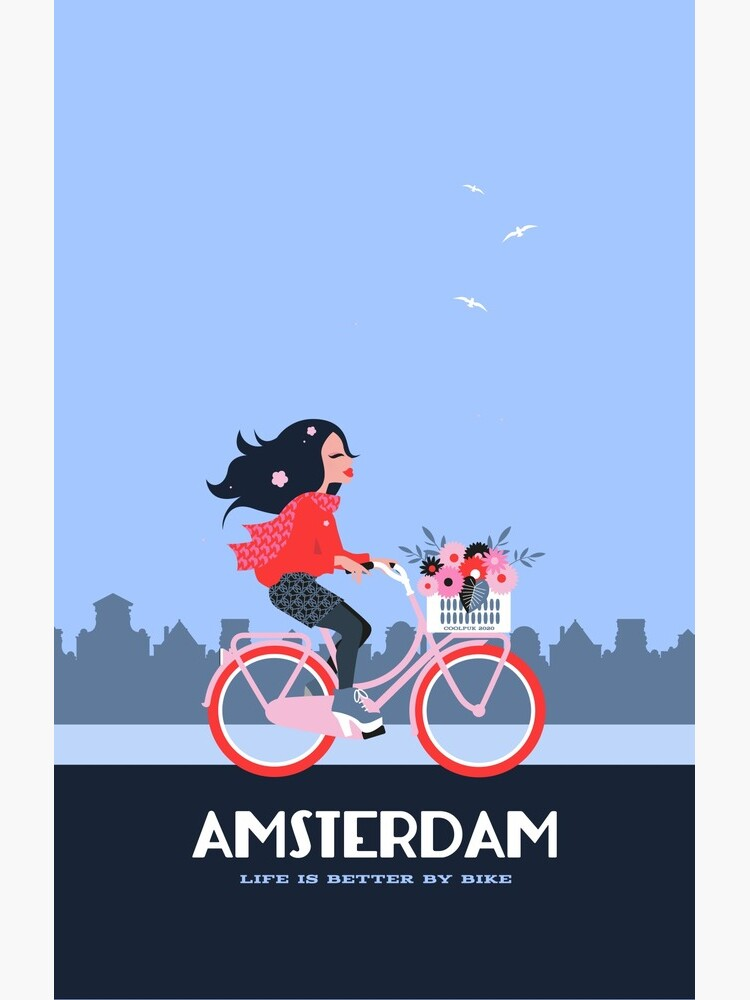 Amsterdam Bike Life by Coolpuk