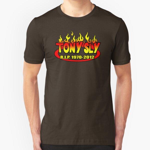 R.I.P. TONY SLY!! Slim Fit T-Shirt