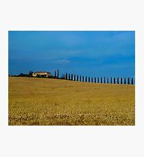 Toscana Italy Photographic Print