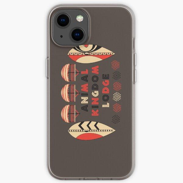 Animal Kingdom Lodge iPhone Soft Case