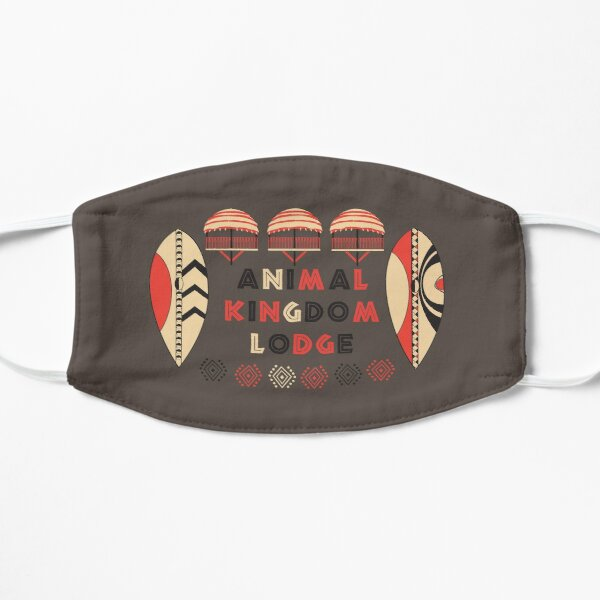 Animal Kingdom Lodge Flat Mask