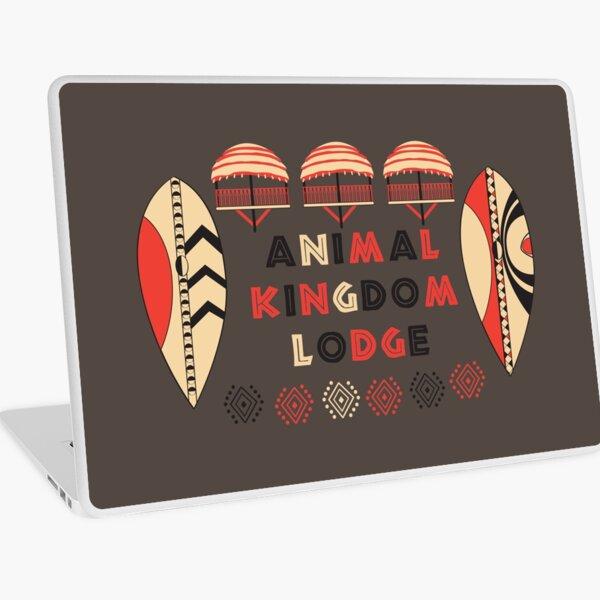 Animal Kingdom Lodge Laptop Skin