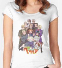 Hetalia Tee Women's Fitted Scoop T-Shirt