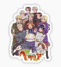 Hetalia Tee Sticker