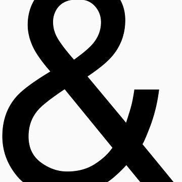 Ampersand (Helvetica) by zachsbanks