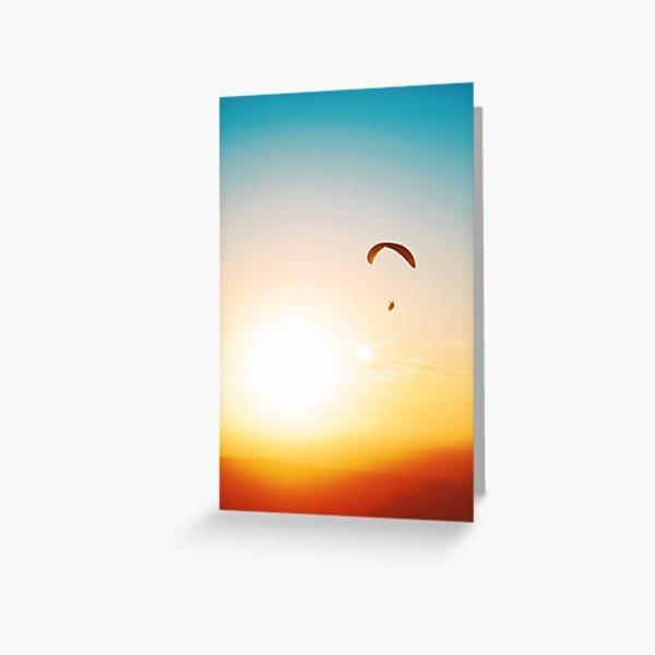Parachute Carte de vœux