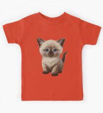 Cataclysm- Siamese Kitten Classic Kids Clothes