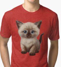 Cataclysm- Siamese Kitten Classic Tri-blend T-Shirt