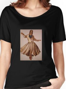 The Remembrance of Allah - A Sufi Whirling Dervish Women's Relaxed Fit T-Shirt