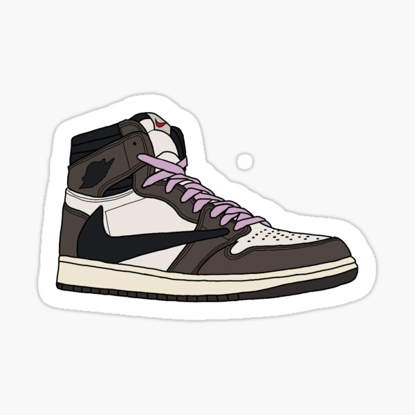 Travis Scott 1 Sticker