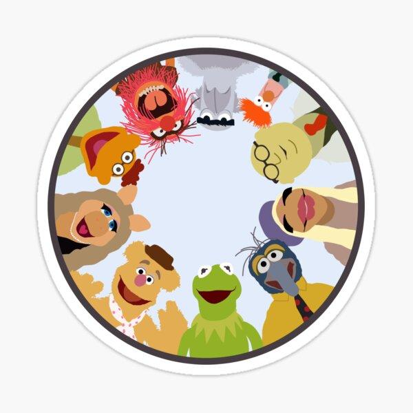 Muppet Gang Sticker