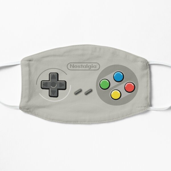 Retro Video Game Turbo Controller Nostalgia Mask