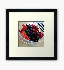 Vitamins Framed Print