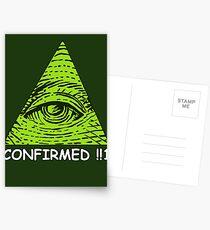 Confirmed!!1 Postcards