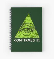 Confirmed!!1 Spiral Notebook