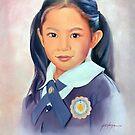 Schoolgirl by Jo-anne Corteza