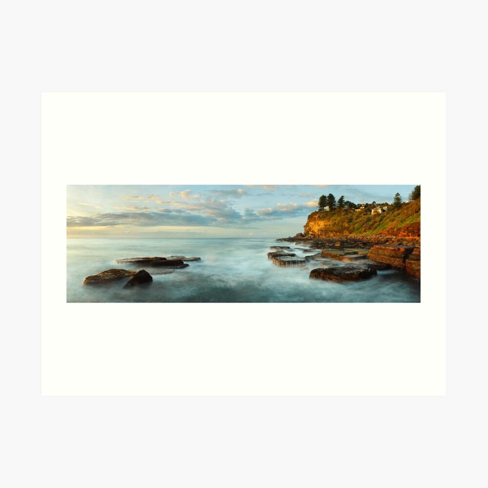 Avalon Rocks, Sydney, New South Wales, Australia Art Print