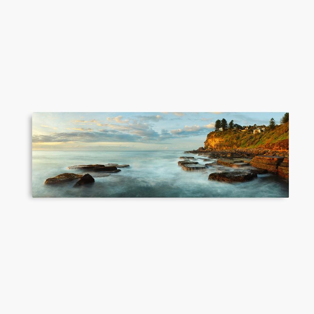 Avalon Rocks, Sydney, New South Wales, Australia Canvas Print
