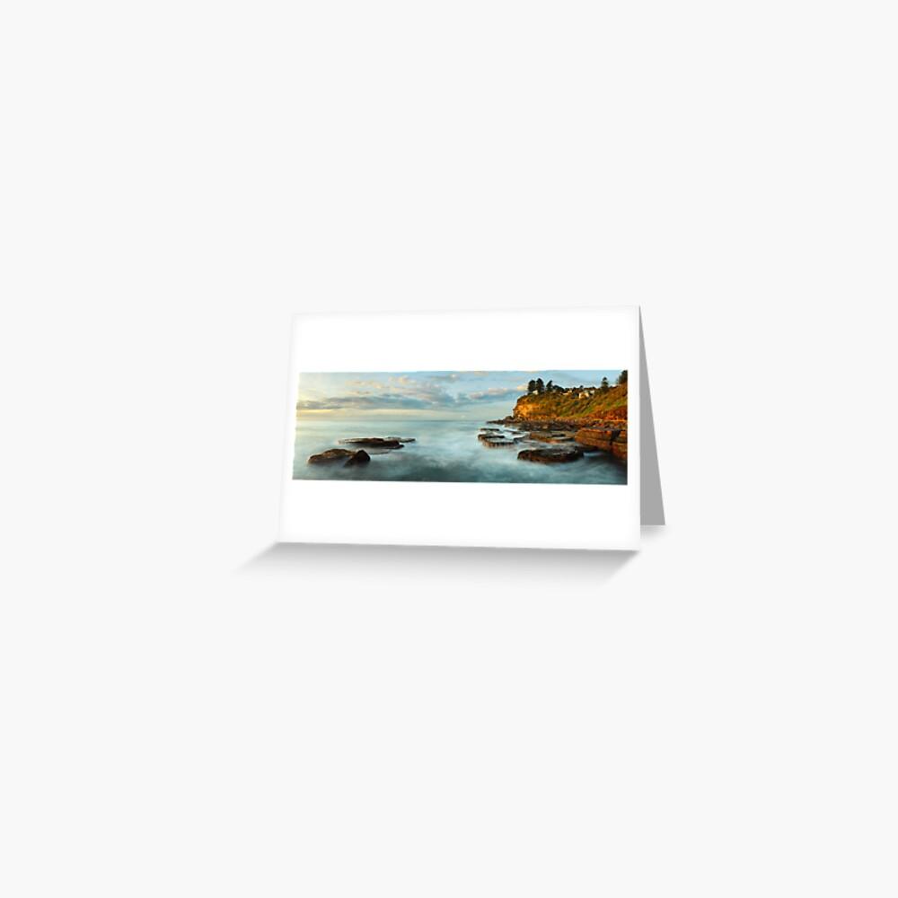 Avalon Rocks, Sydney, New South Wales, Australia Greeting Card