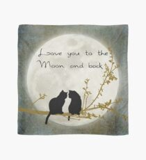 Love you to the moon and back Scarf
