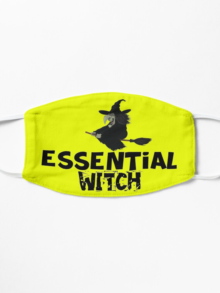 Alternate view of Witch 1 design Essential Witch Mask