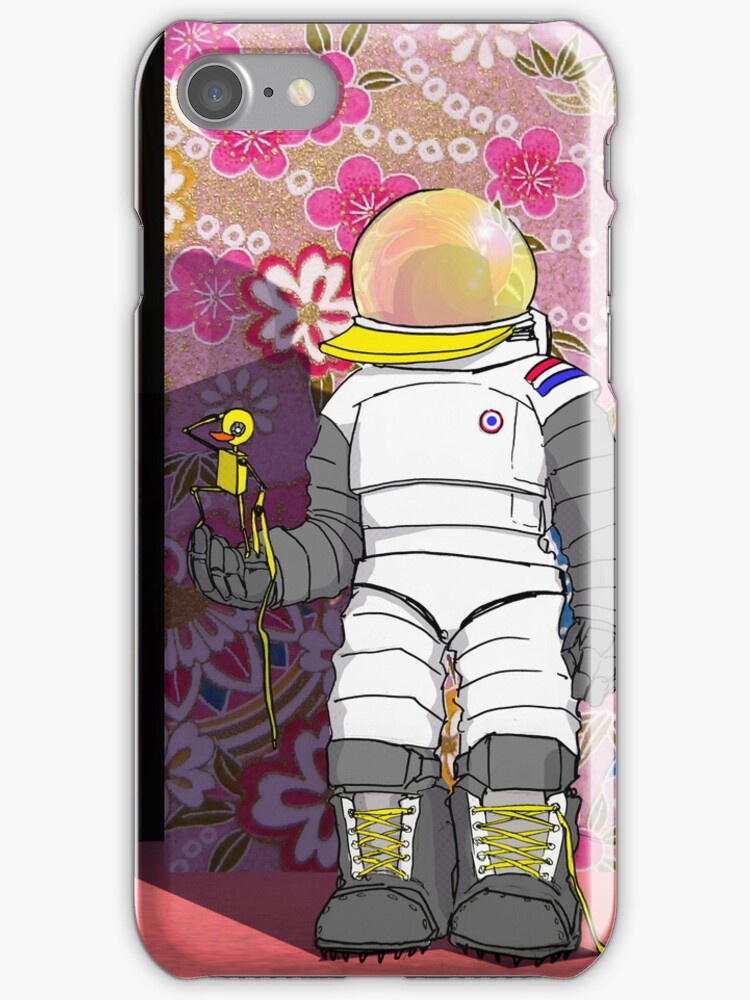 Duck Astronaut by springly