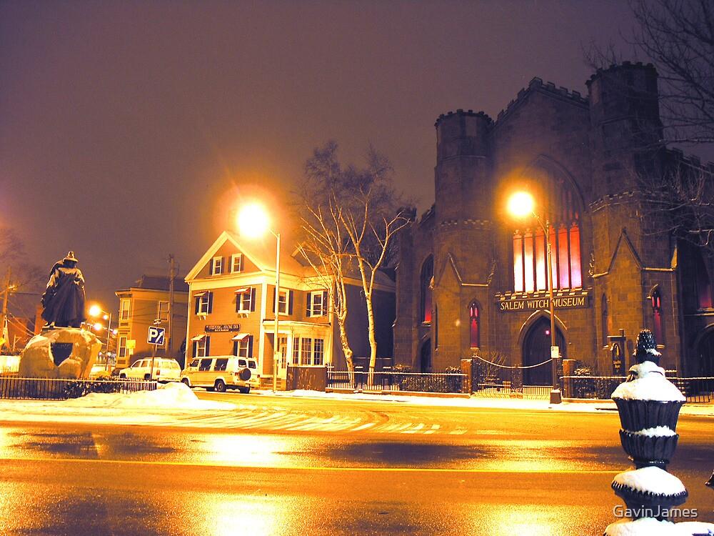Salem Witch Museum in Winter by GavinJames
