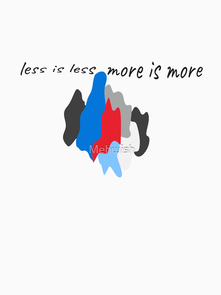 More or less by Mehwish