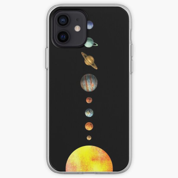 The Solar System iPhone Soft Case