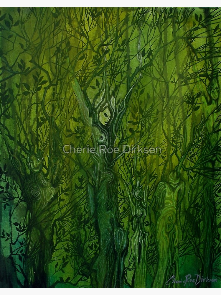 Keepers of the Wood by cheriedirksen